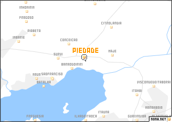 map of Piedade