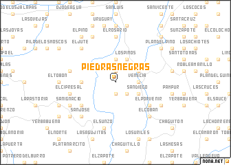 map of Piedras Negras