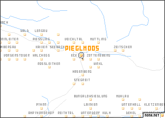 map of Pieglmoos