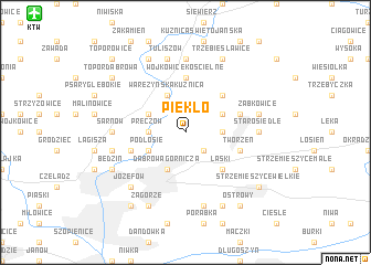 map of Piekło