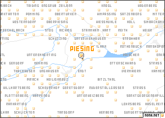 map of Piesing