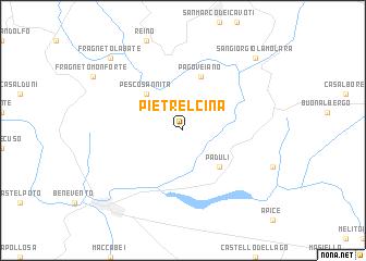Pietrelcina Italy Map Nona Net