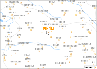 map of Pihali