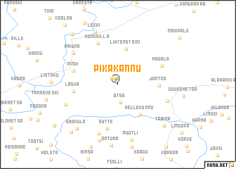 map of Pikakannu