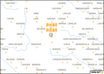 map of Pikan