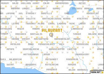 map of Pilaurant