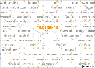 map of Pilgersham
