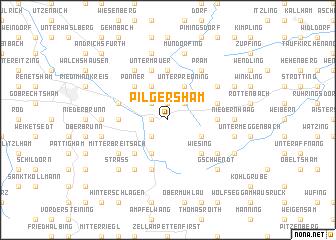 map of Pilgersham