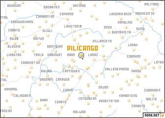 map of Pilicango