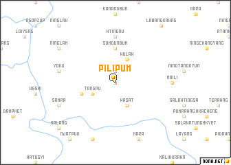 map of Pilipum