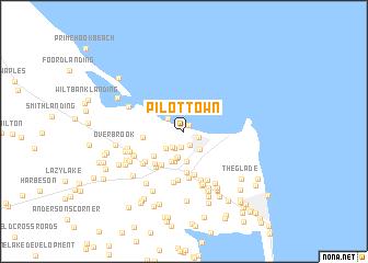 map of Pilottown