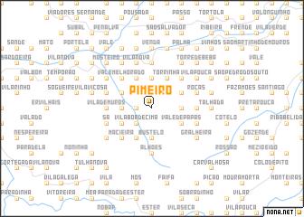 map of Pimeirô