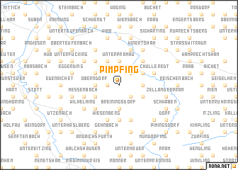 map of Pimpfing