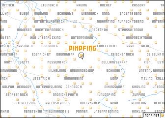 map of Pimpfing