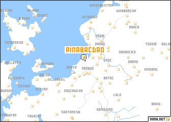 map of Pinabacdao