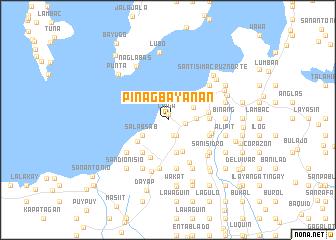 map of Pinagbayanan
