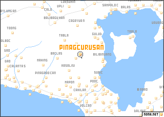 map of Pinagcurusan