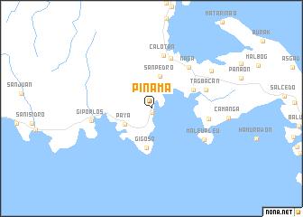 map of Pinama
