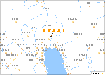 map of Pinamono-an