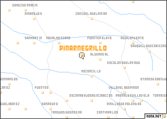 map of Pinarnegrillo
