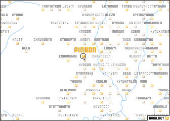 map of Pinbon