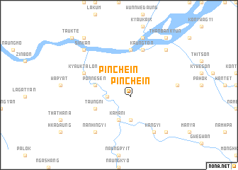 map of Pinchein