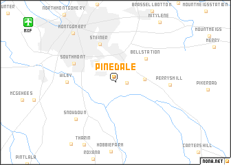 map of Pinedale