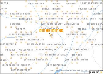 map of Pinheirinho