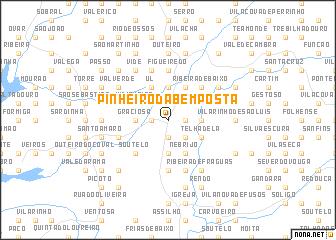 map of Pinheiro da Bemposta