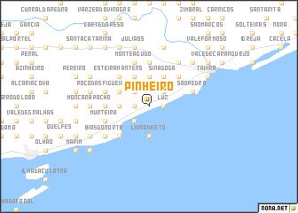 map of Pinheiro