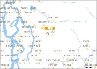 map of Pinle-in