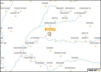 map of Pinmu