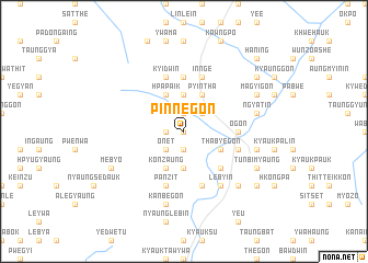 map of Pinnegon