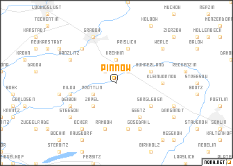 map of Pinnow