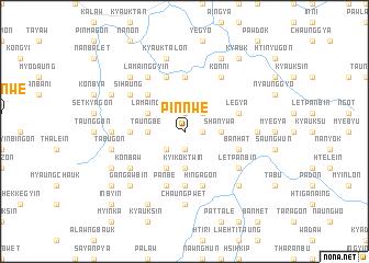 map of Pinnwe
