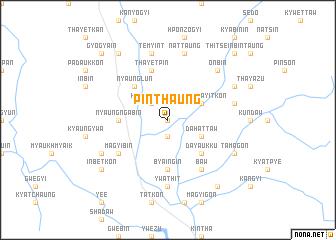 map of Pinthaung