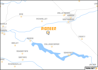 map of Pioneer