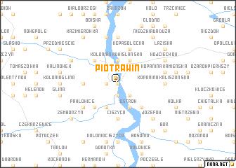 map of Piotrawin