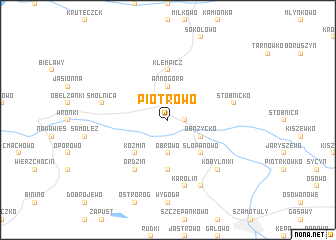 map of Piotrowo