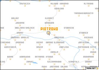 map of Piotrowo