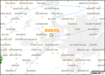 map of Pipping