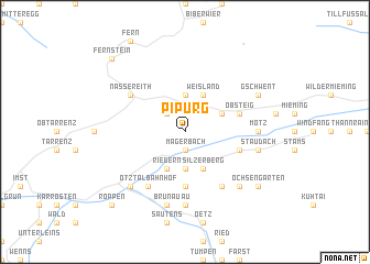 map of Pipurg