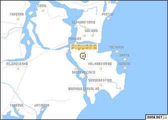 map of Piquara