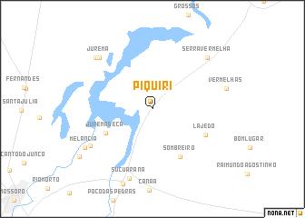 map of Piquiri