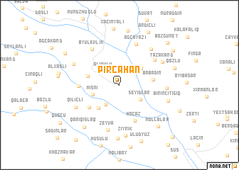 map of Pircahan
