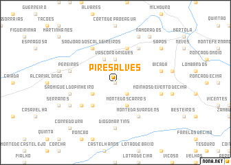 map of Pires Alves