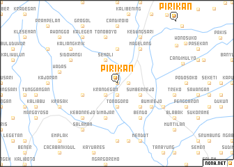 map of Pirikan