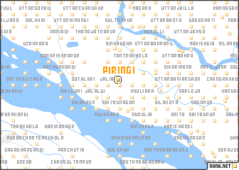 map of Piringi