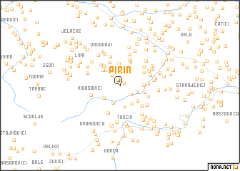 map of Pirin