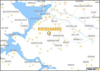 map of Piris Khwāru